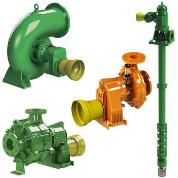 Tractor + PTO drive pumps