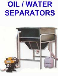 Oil + water separators