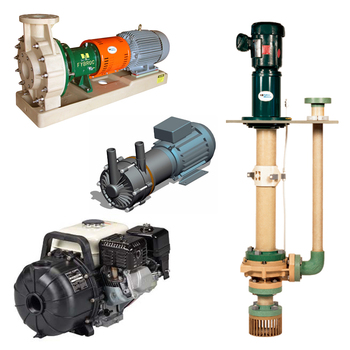 Chemical pump systems