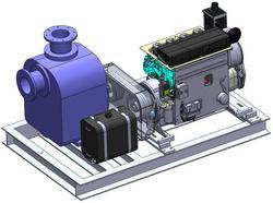 B:   FOJ & FOT series with diesel engine