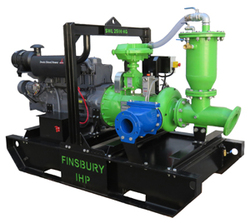 The Poseidon 150x125-250A-ADP50 series automatic prime pumps