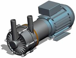 Totton NEMP50-25 series magnetic drive centrifugal pumps general