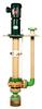 The Fybroc 5500 series Fibreglass vertical Turbine pumps
