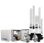 AC Solar surface and borehole pumps