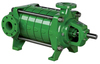 Rovatti horizontal bare shaft multistage pumps