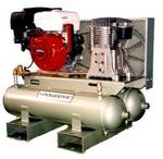 TWIN TANK AIR COMPRESSORS