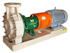 The Fybroc 1500 series Fibreglass centrifugal pumps