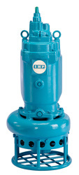 Heavy duty submersible slurry pumps