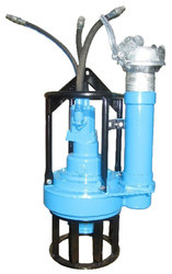 150mm hydraulic drive submersible pumps with screw type impeller